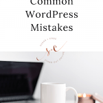 How To Fix Common WordPress Mistakes Yourself