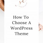 branding your business - How To Choose A WordPress Theme