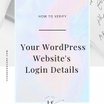 How To Find Your WordPress Login Details If You Forget