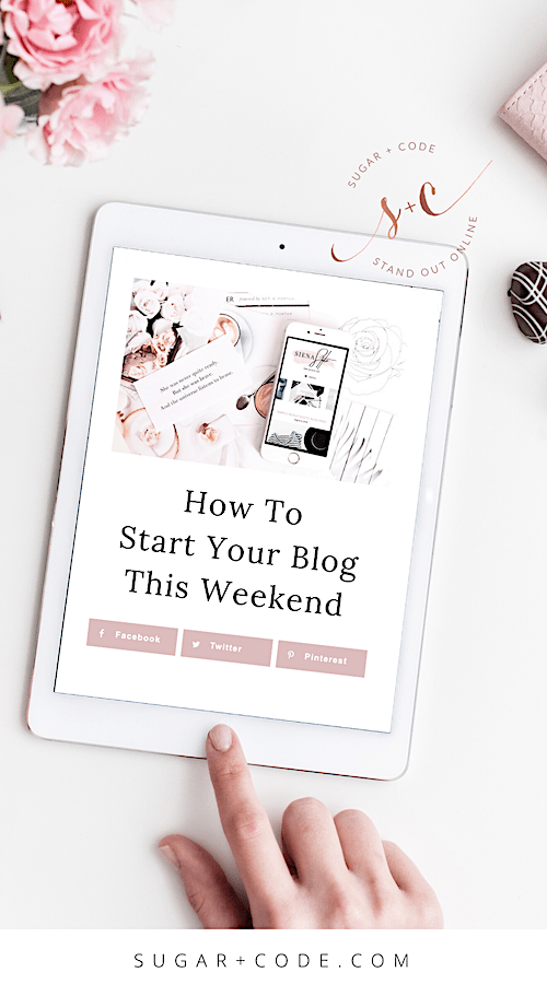 How to start a blog this weekend for free