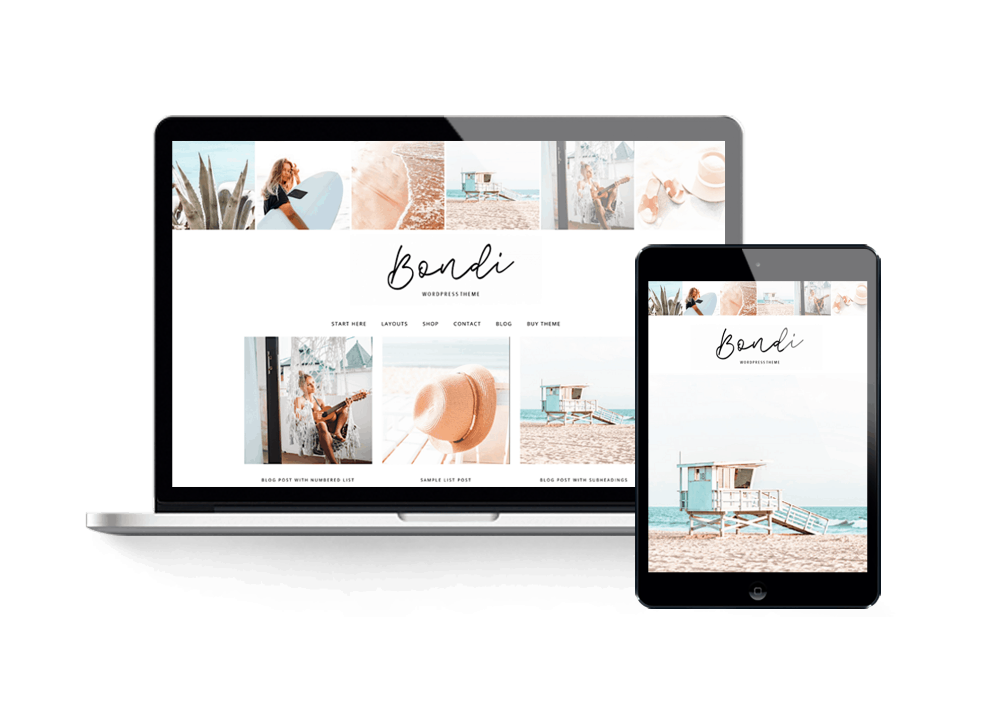 Bondi travel WordPress theme