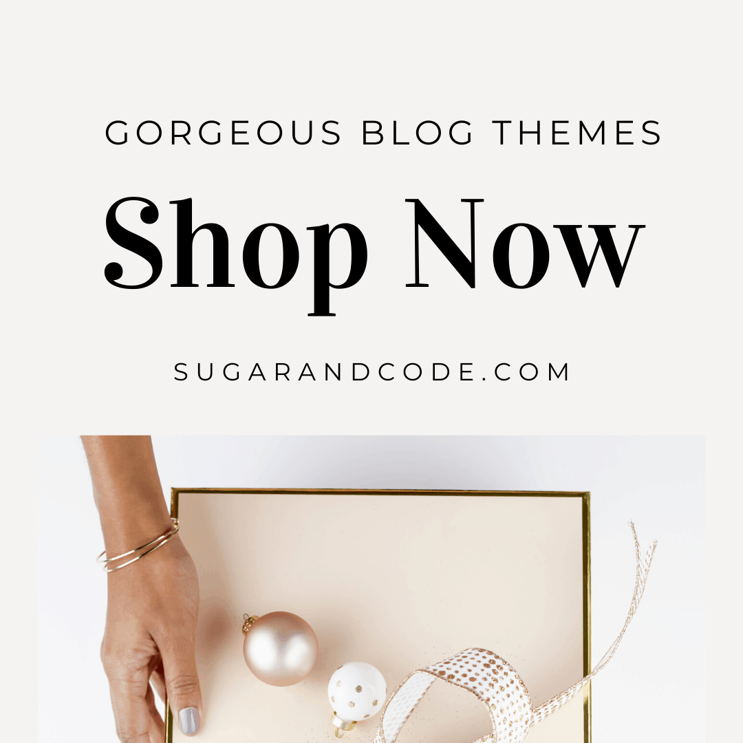 sugar and code blog themes