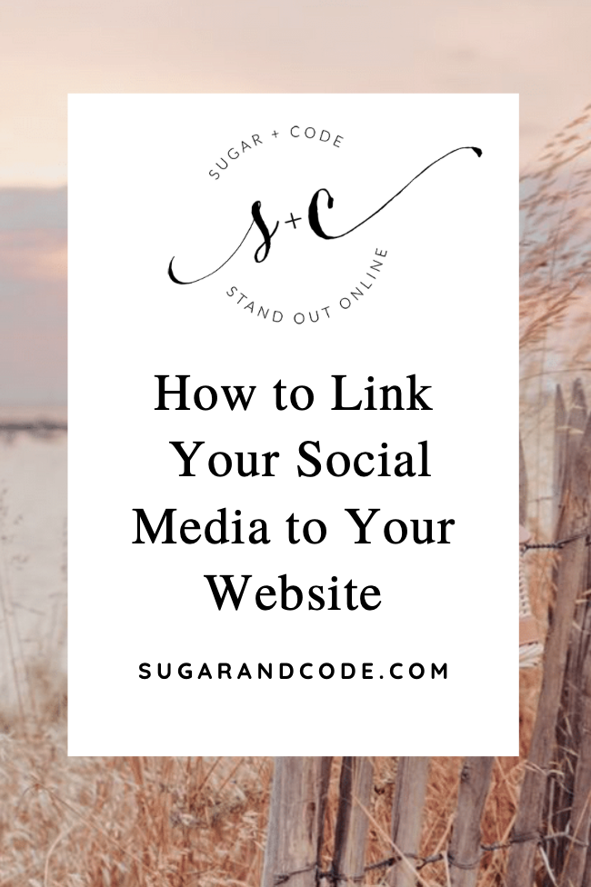 How to Link Your Social Media to Your Website